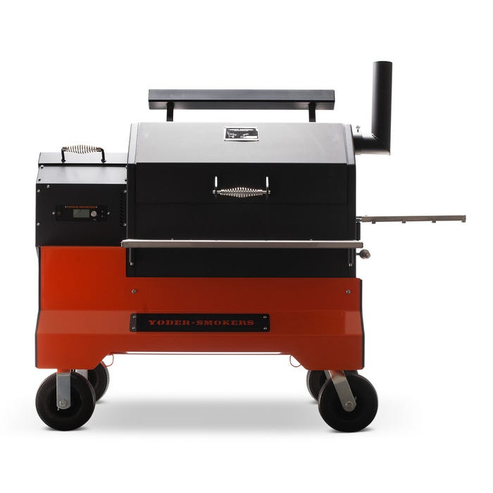 Yoder Smoker YS640s Pellet Grill With Comp Cart
