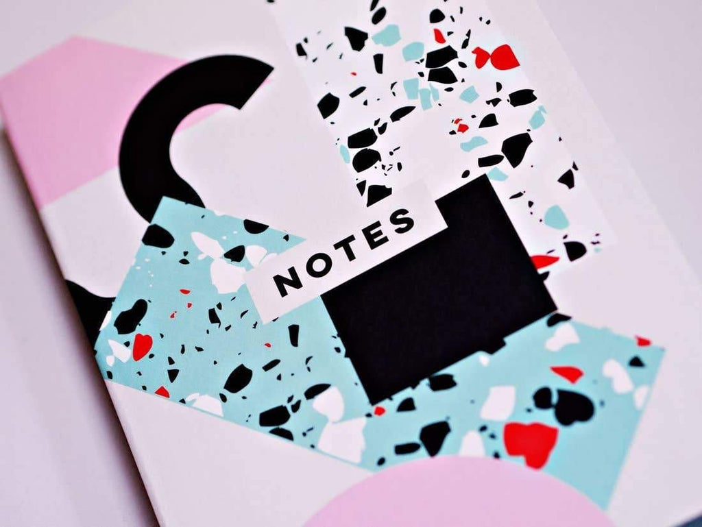 Memphis Shapes Notebook The Completist
