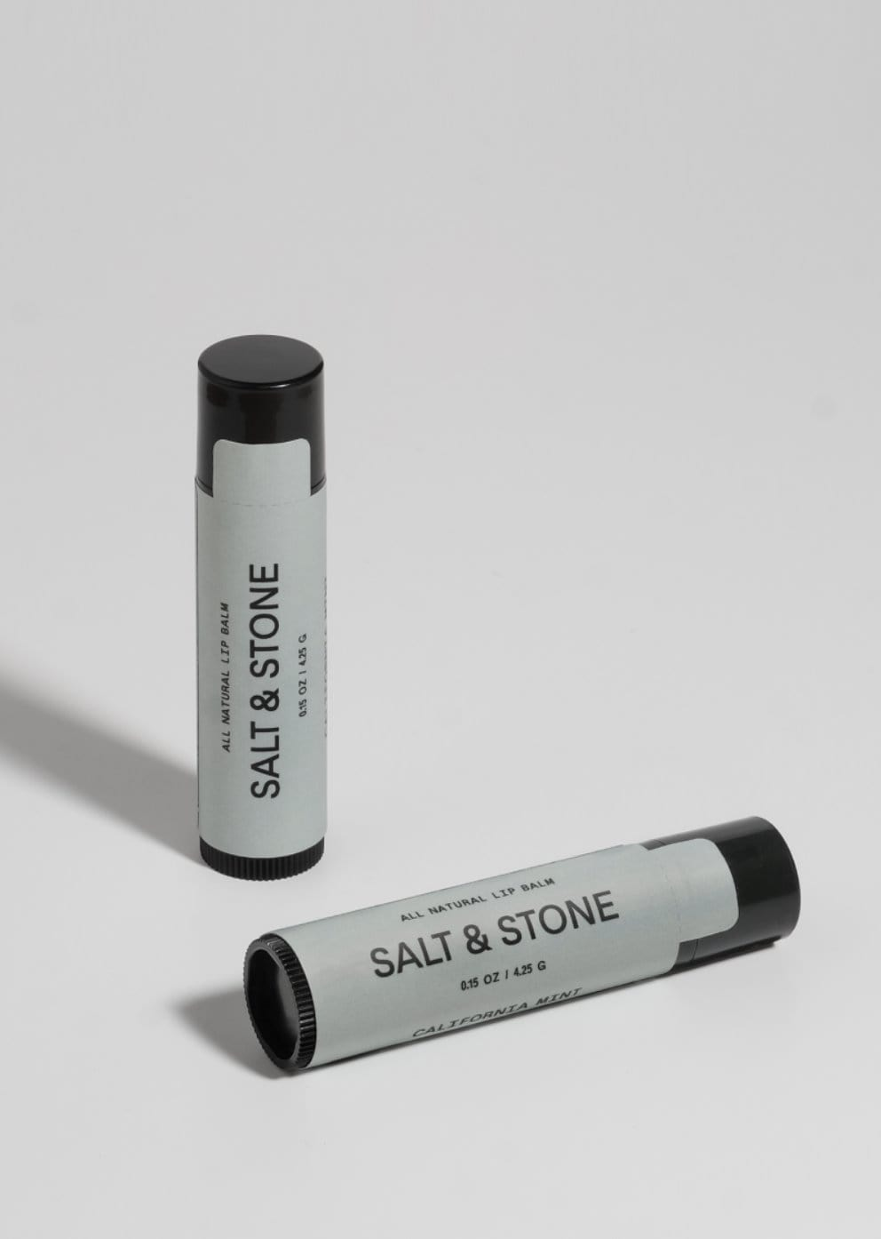California Mint Lip Balm Salt & Stone