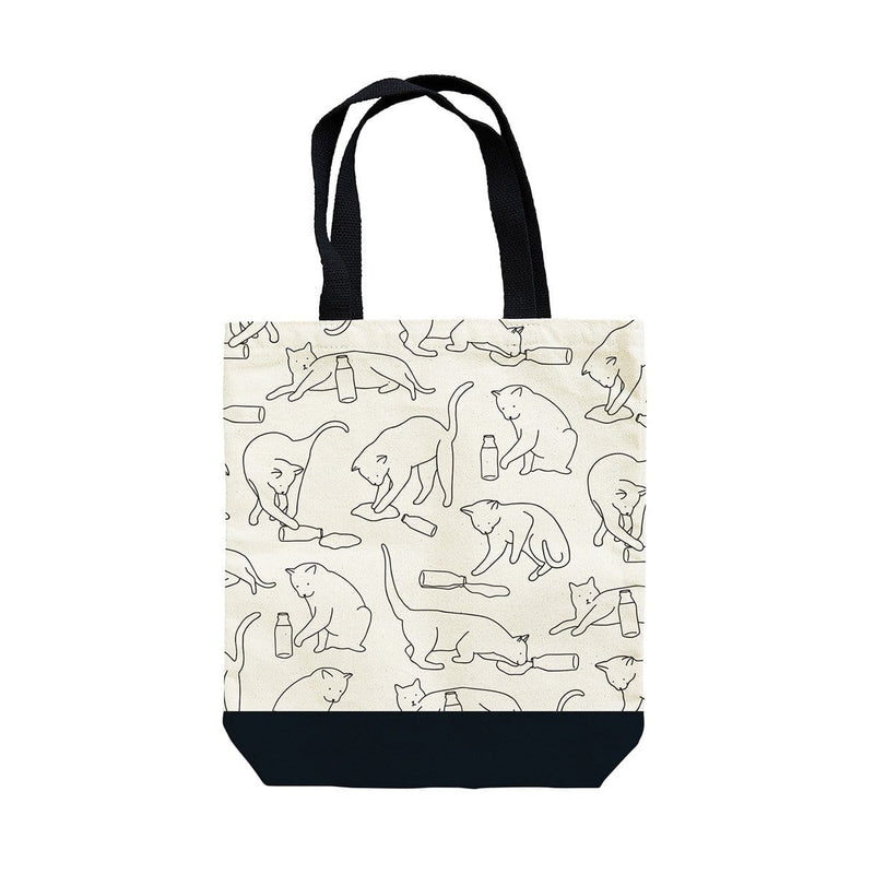 Cat Lap Tote Bag