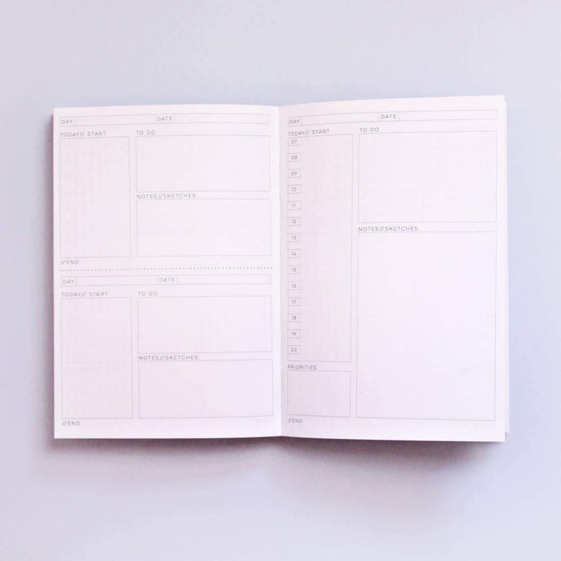 Inky No. 1 Daily Planner Book The Completist