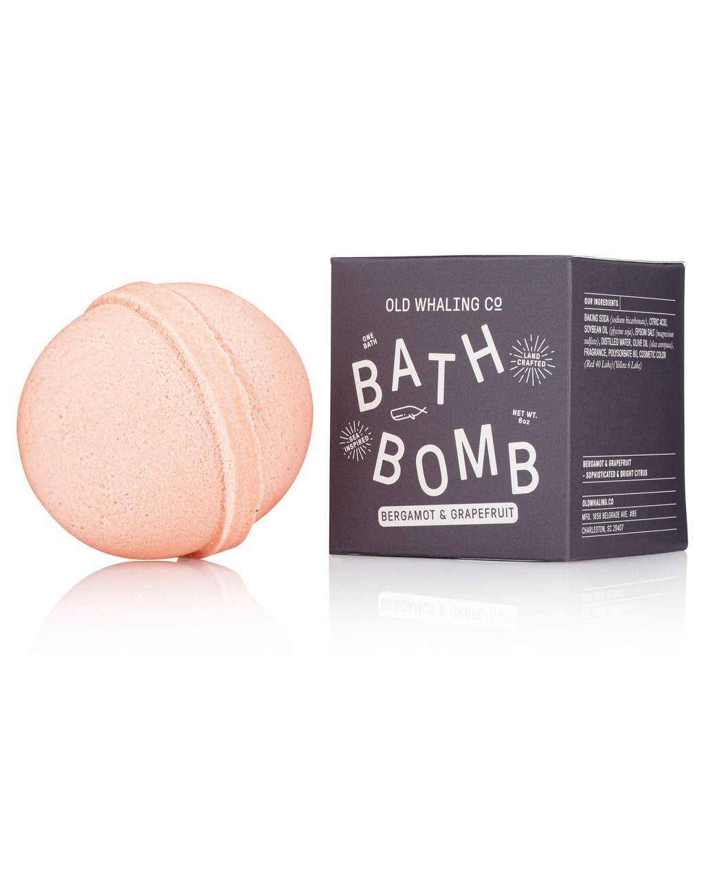 Bath Bombs!! Old Whaling Company Bergamot & Grapefruit