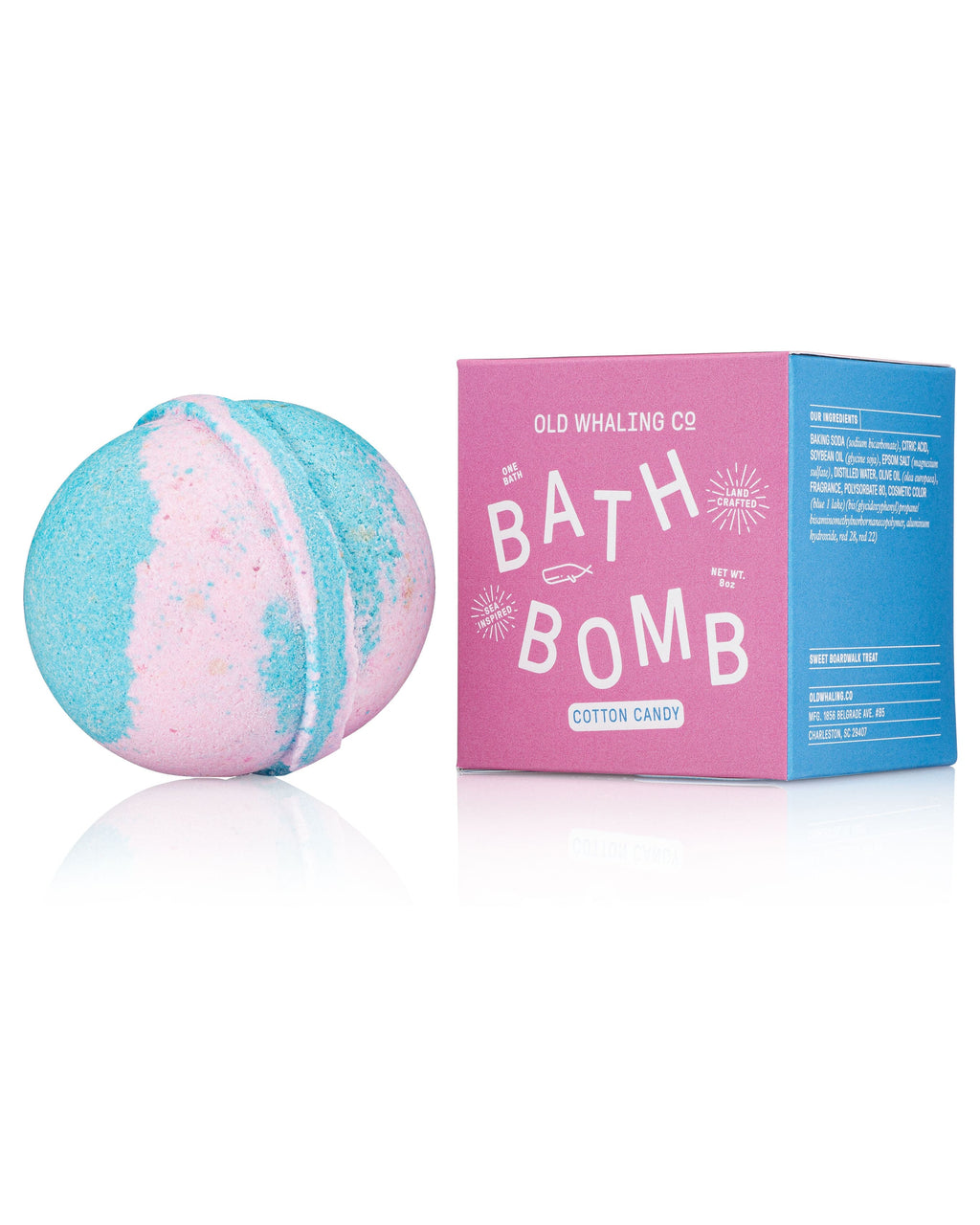 Bath Bombs!! Old Whaling Company Cotton Candy