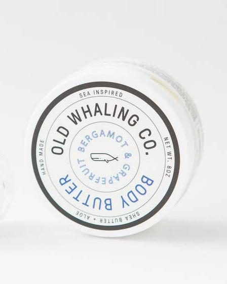 Natural Nourishing Body Butter Old Whaling Company Bergamont + Grapefruit