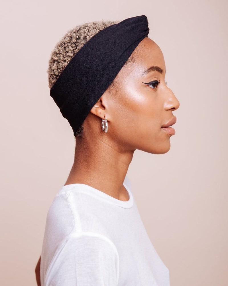 Jolene Black Turban
