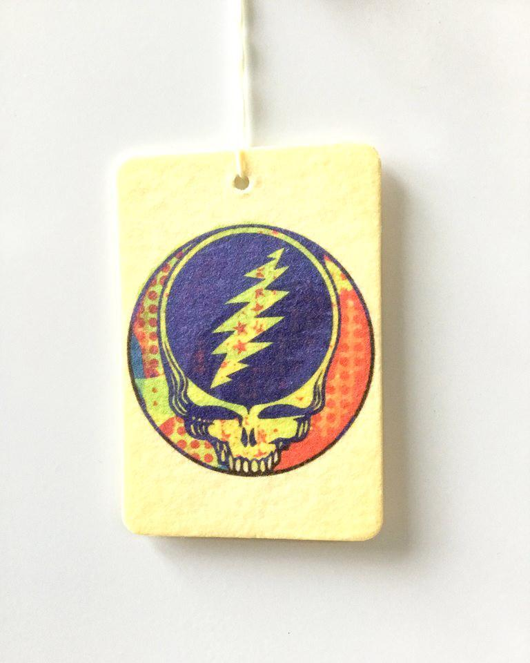 Grateful Dead - Steal Your Face Car Freshener Wild Yonder Botanicals