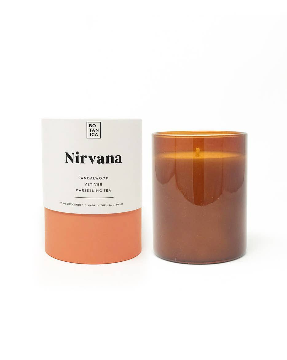 Botanica Candle in Nirvana - Haley Solar