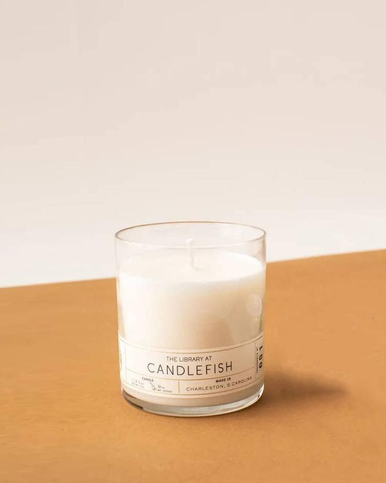 Candlefish Glass Candle 9 oz. Glass Jar Candlefish