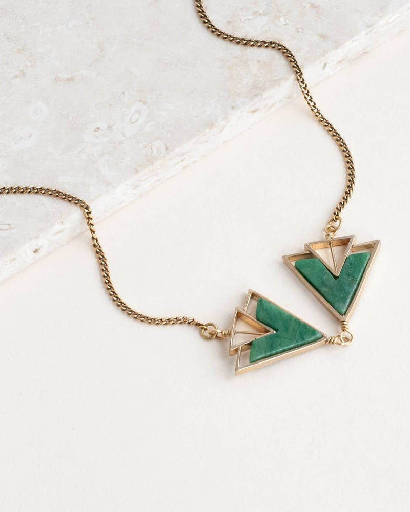 The Leda Necklace Michelle Starbuck Jade