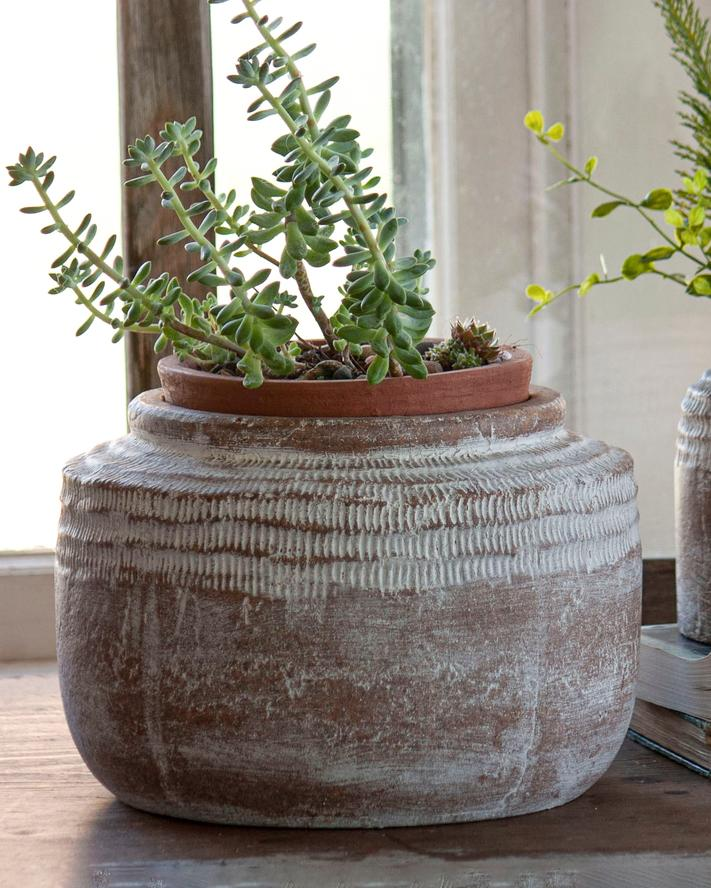 Brio Etched Pot