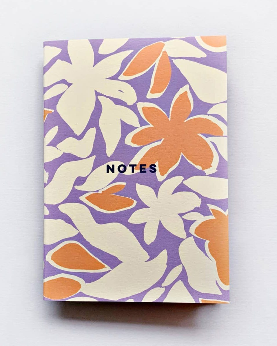 Tropical Flowers Notebook - Haley Solar