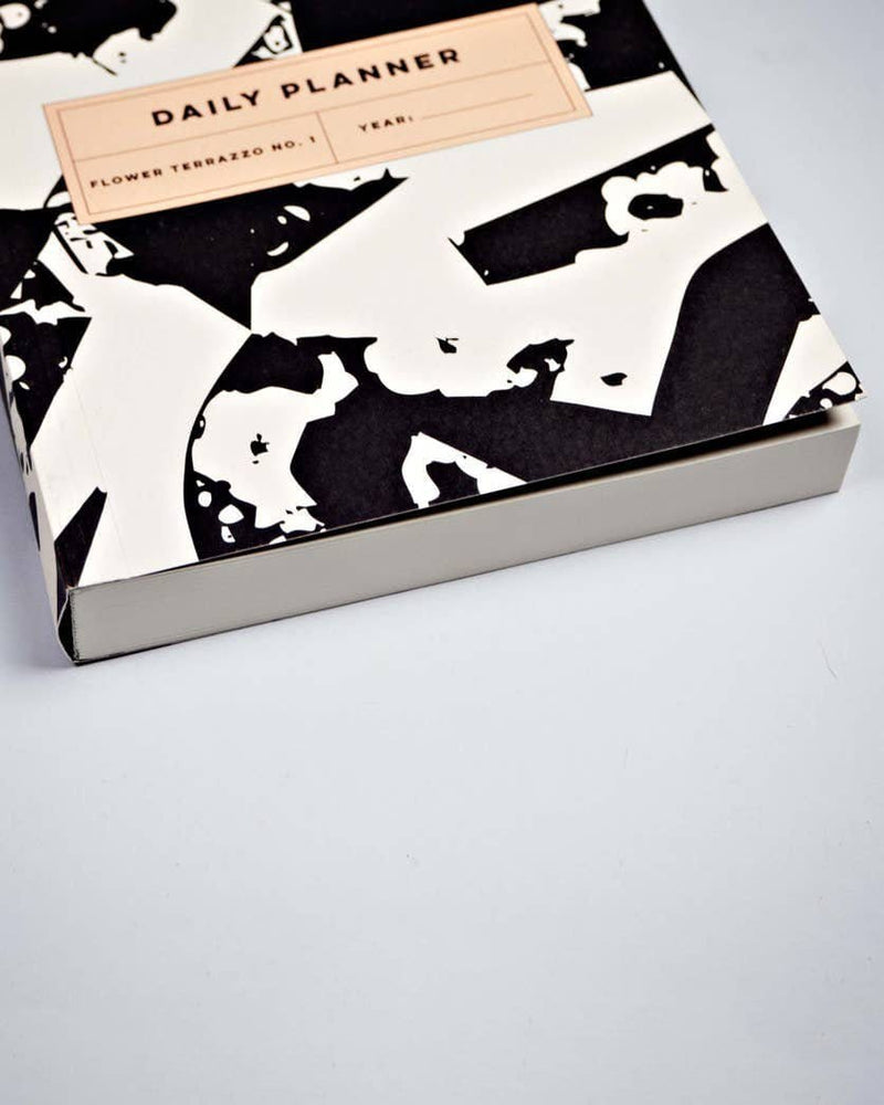 Flower Terrazzo No. 1 Daily Planner Book - Haley Solar