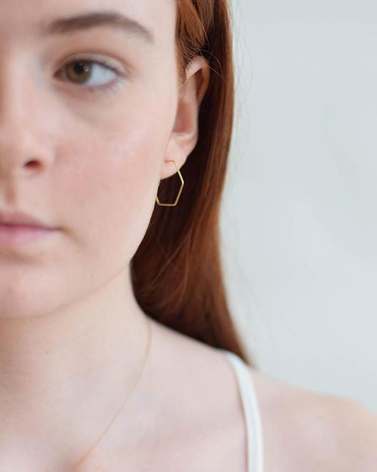 Geometry Wire Hoops