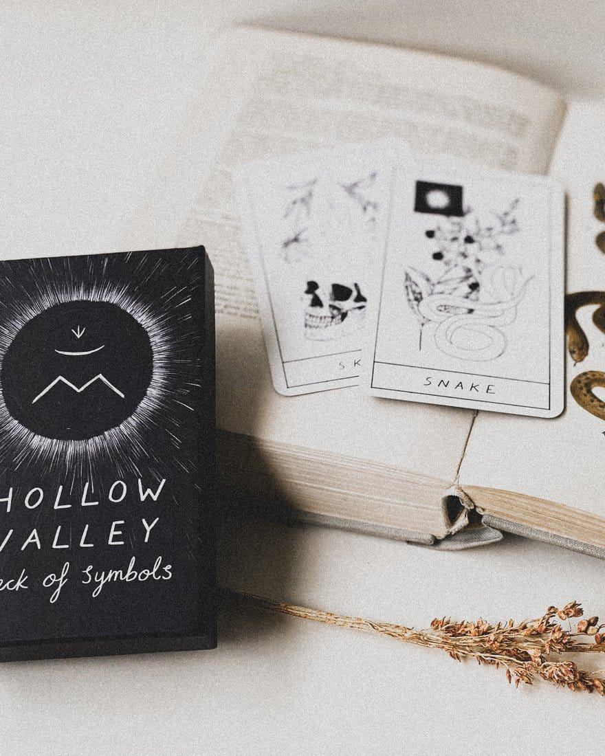 The Hollow Valley Deck of Symbols + Guidebook Hollow Valley
