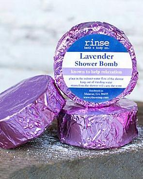 Lavender Shower Bomb Rinse