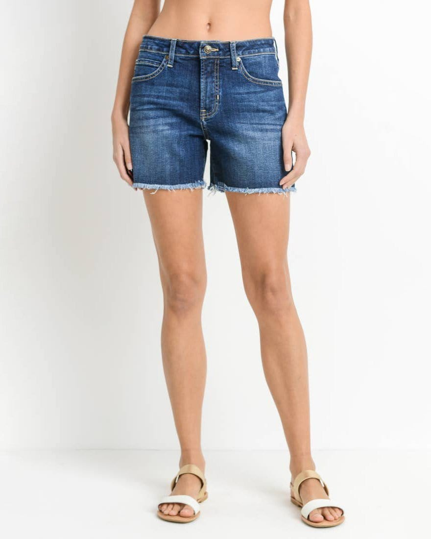 Cut-off long denim short Just Black Denim