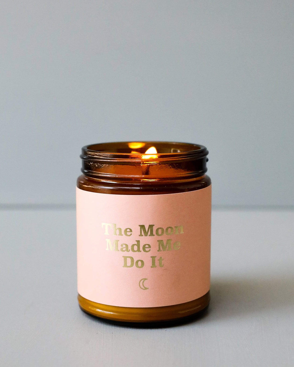The Moon Made Me Do It - Mantra Candle