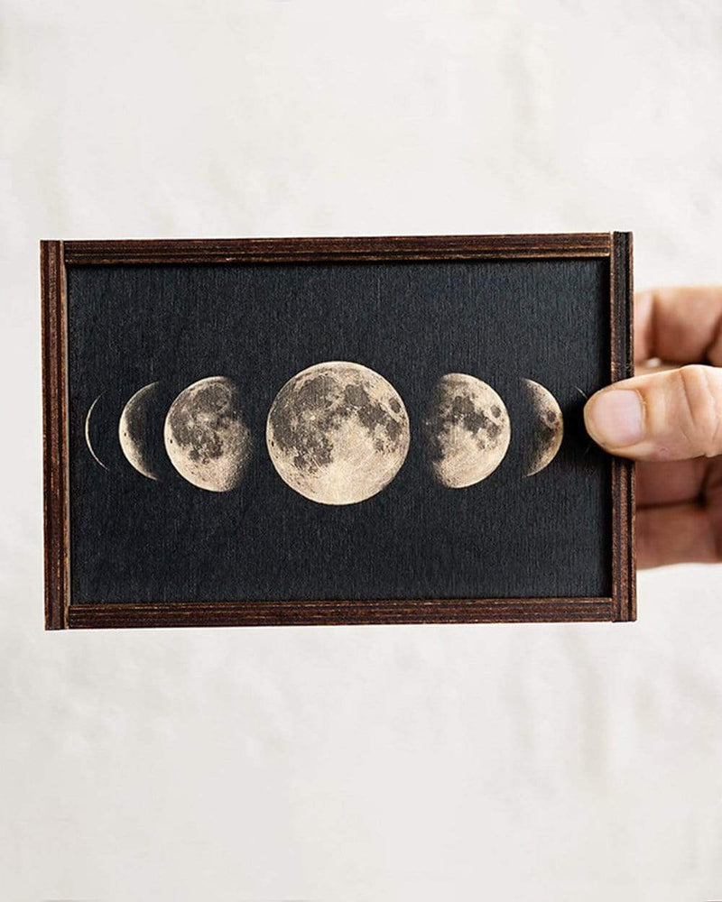 Moon Phases Stash Box