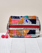 Patchwork Cosmetic Totes