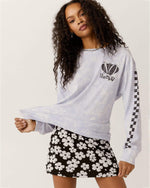 No Doubt Checker Oversized Long Sleeve