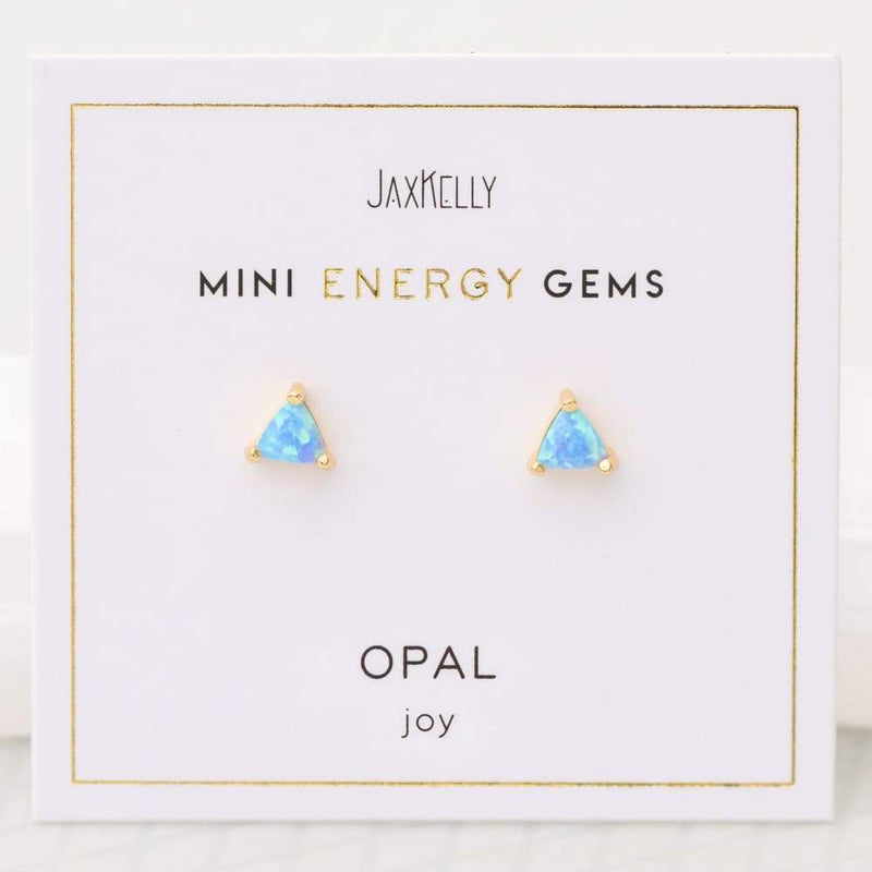 Mini Energy Gem Studs