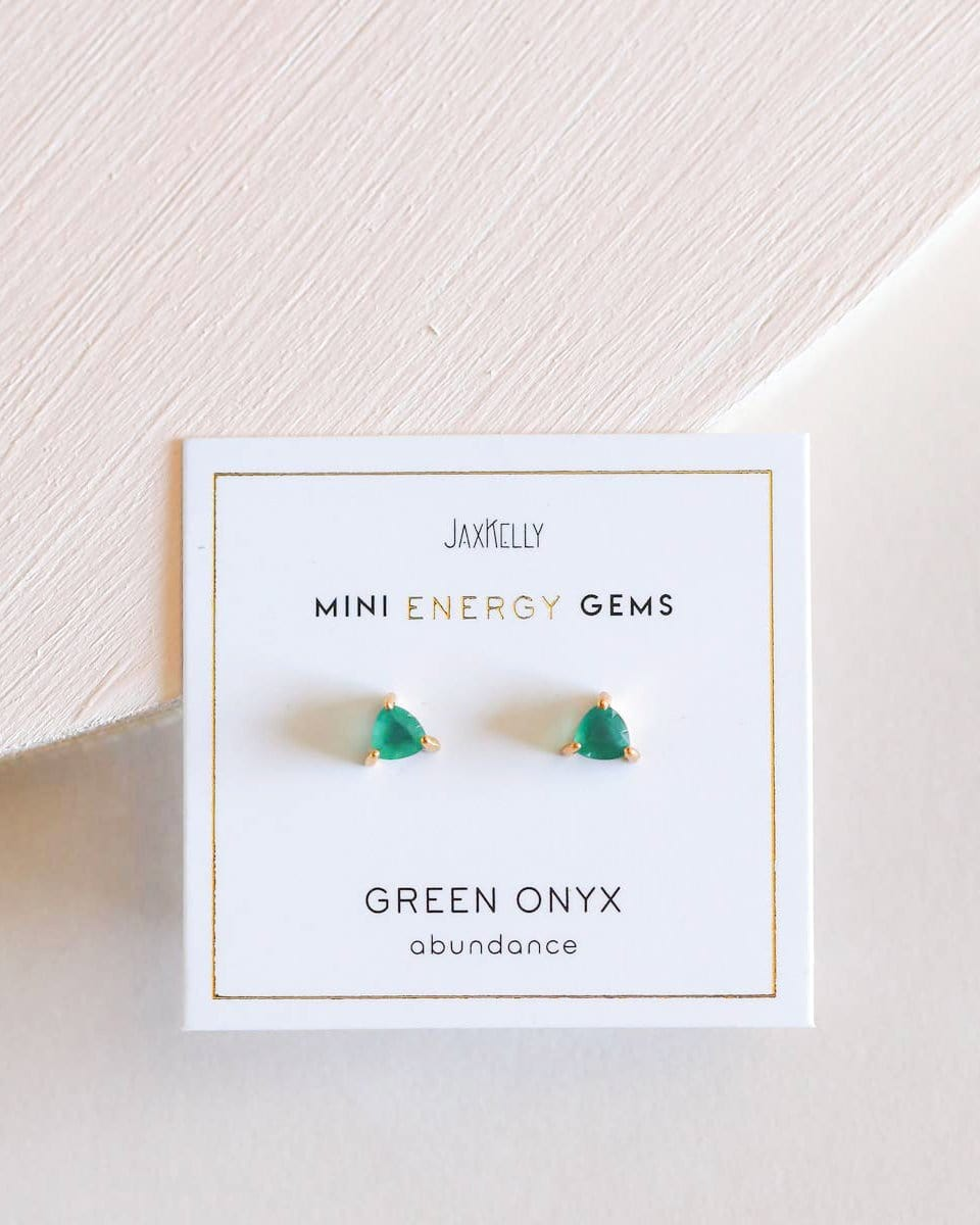 Mini Energy Gem Studs - Haley Solar