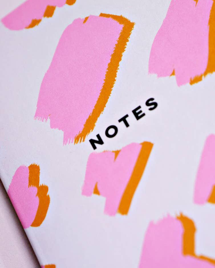Pink Mustard Notebook The Completist