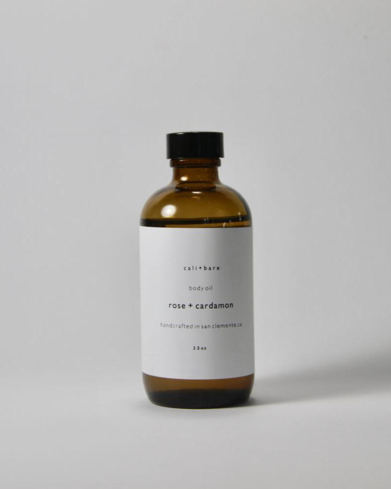 Rose + Cardamon Body Oil Cali Bare