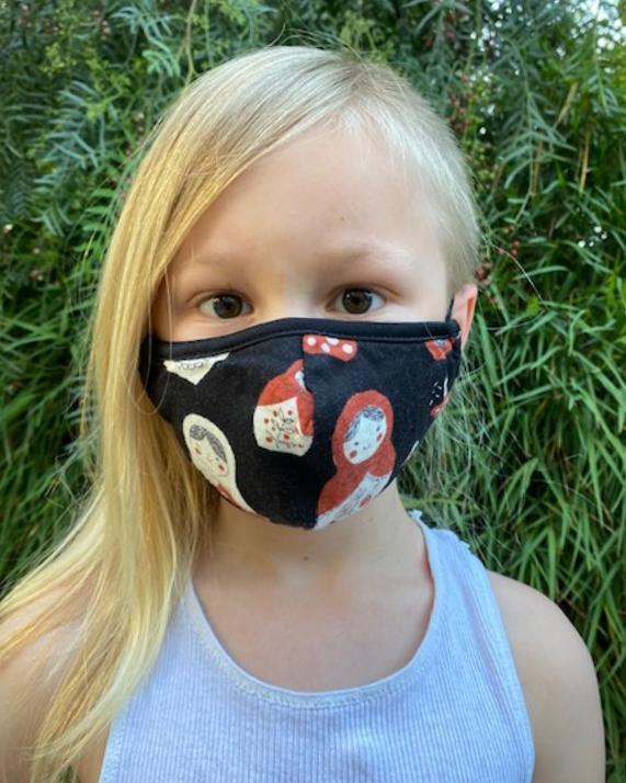 Matryoshka Dolls Kids Mask - Haley Solar