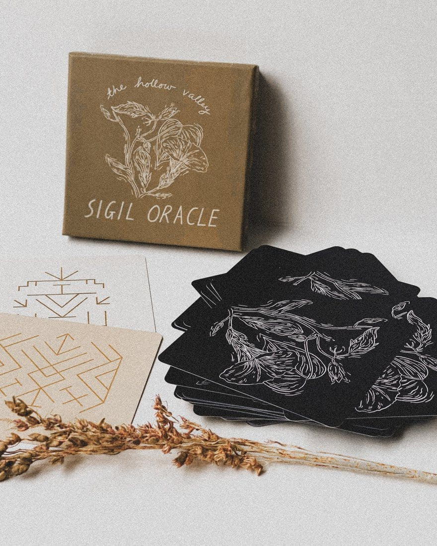 Hollow Valley Sigil Oracle Deck