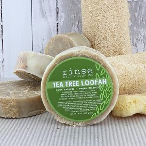 Tea Tree Loofah Soap Rinse