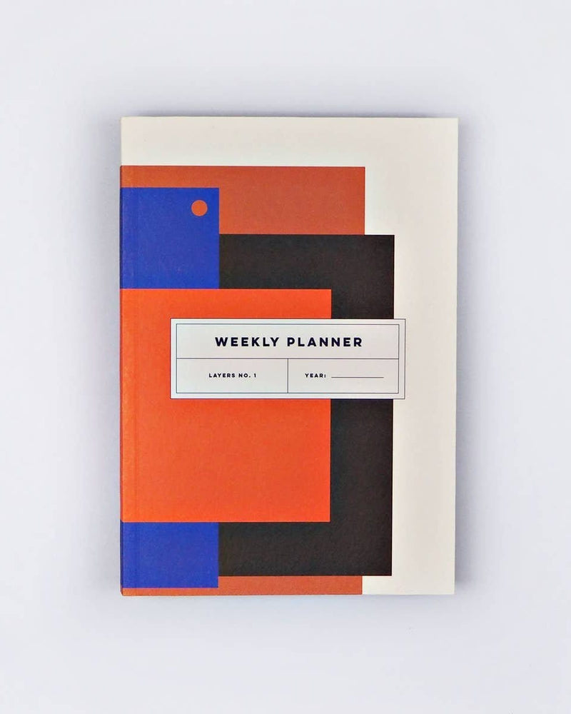 Layers No. 1 Weekly Lay Flat Planner Book - Haley Solar