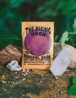 Crystal Charged Bath Salt Soaks Wild Yonder Botanicals The Rising Moon / Patchouli