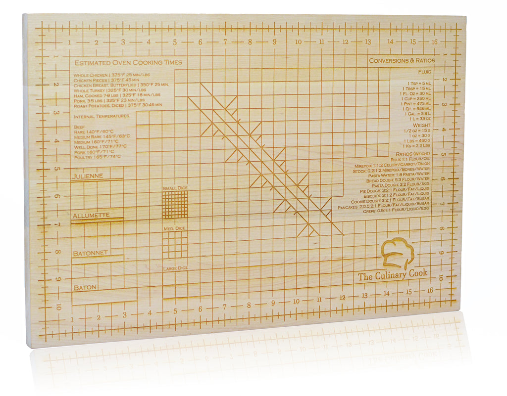 The Culinary Cook Pro Series Cutting Board