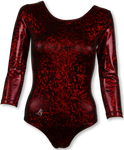 BASIC DARK RED 3D DAMSKI