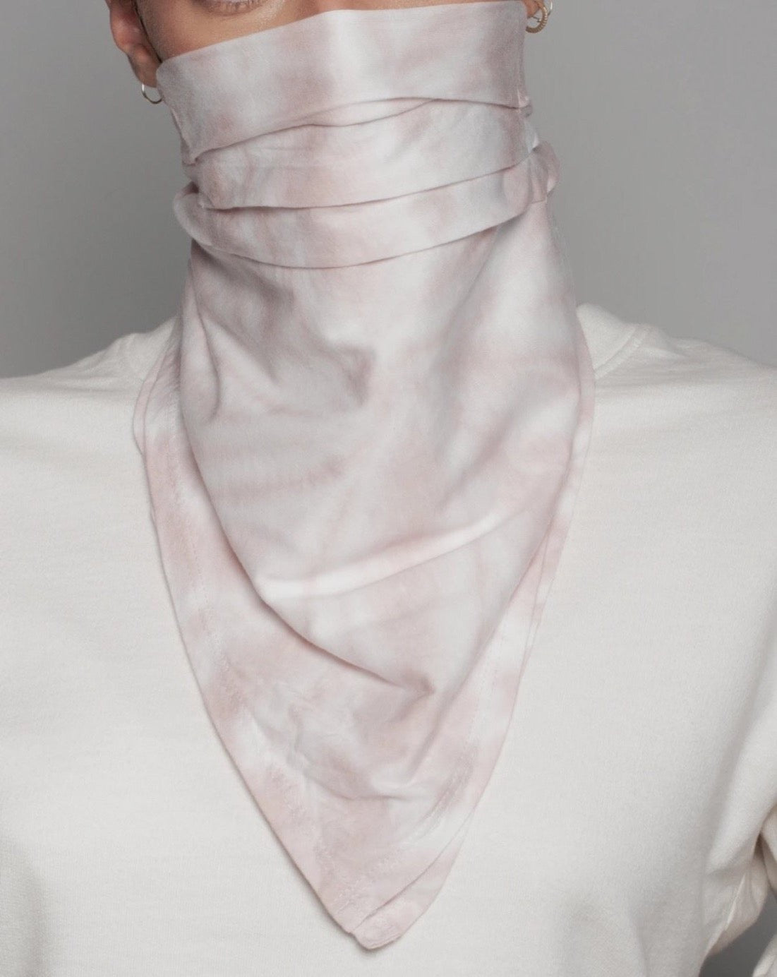 THE MARBLE BANDANA MASK
