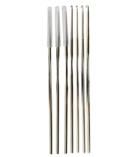 Crochet Needle - Nickel Steel - Fararti