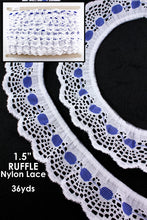 Load image into Gallery viewer, RUFFLE NYLON LACE (YDS)