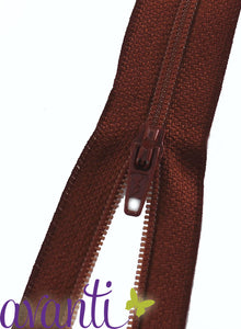 "Polyester Zippers 18"" - Fararti"