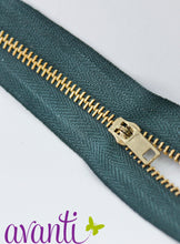 "Load image into Gallery viewer, Zippers Brass #3 7"" - Fararti"