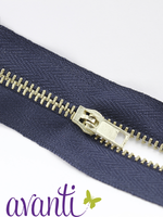 Zippers Brass #3 4