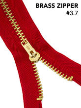 "Load image into Gallery viewer, Zippers Brass #4.5 9"" - Fararti"
