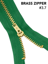 "Load image into Gallery viewer, Zippers Brass #4.5 5"" - Fararti"