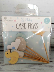 Baby topper: Cake picks