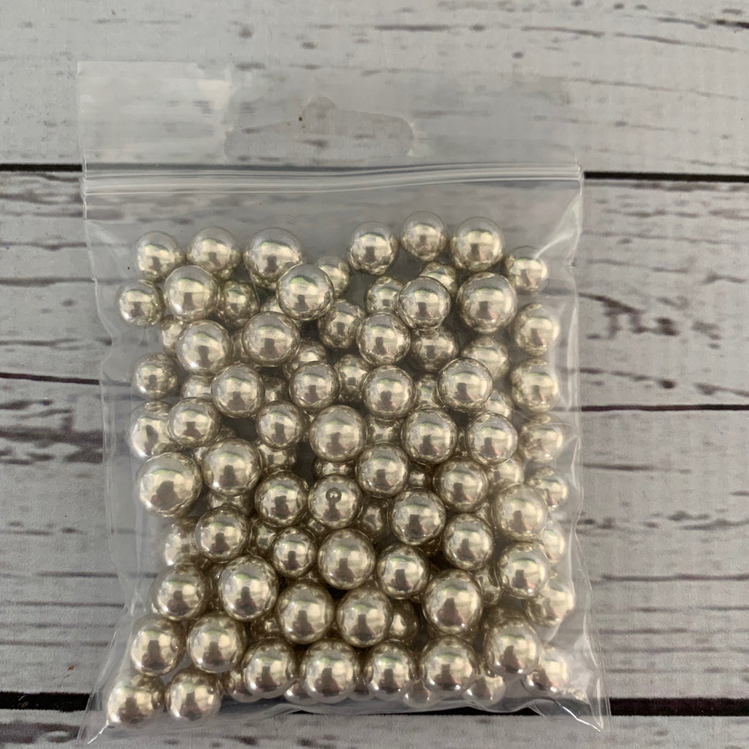 Edible Silver large balls