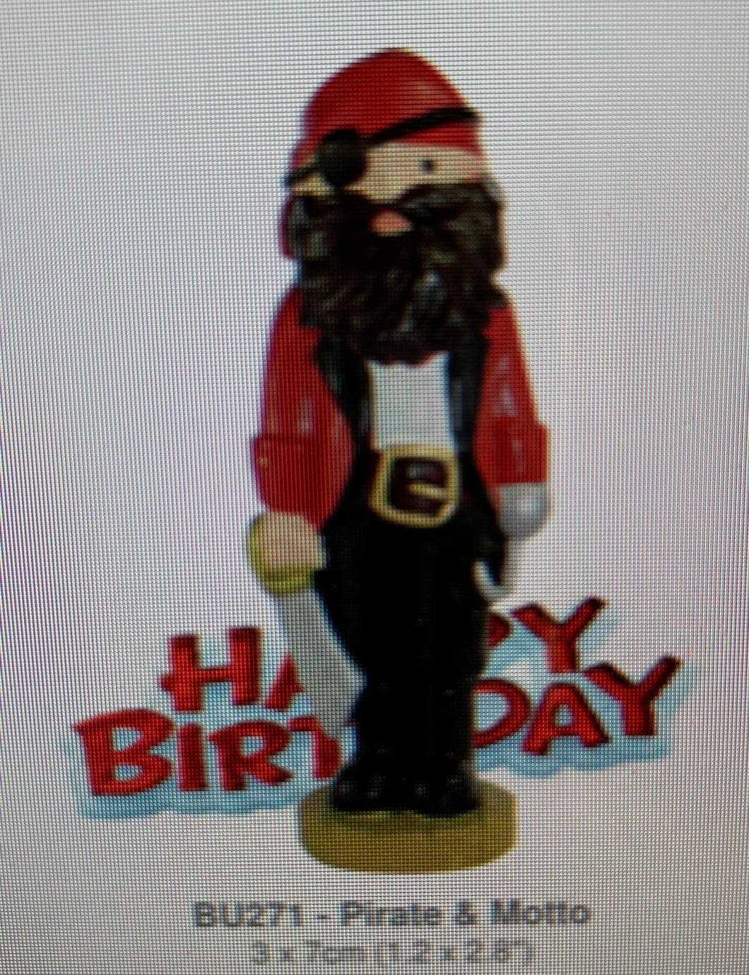 Cake Topper  - PIRATE