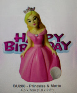 Cake Topper  - Pink Princess