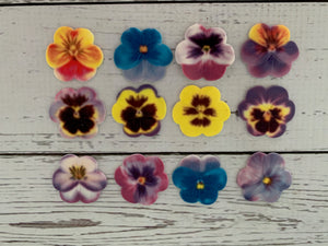 Edible Decorations -Pansies