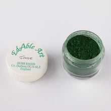 Load image into Gallery viewer, Dust  - Edible Art Powdered Colours - GREENS