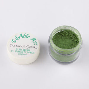 Edible Art Powdered Dust Colours - GREENS